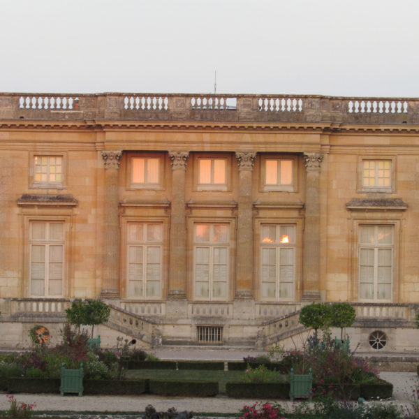 Petit Trianon - Vue jardins